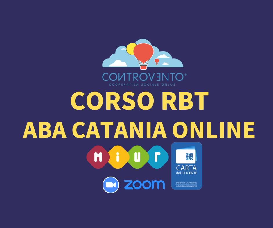 Corso RBT- ABA Catania - Tutte le informazioni a proposito del nostro corso ONLINE